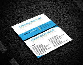 #25 for Business Card Design for a Residential Engineering Company af AMuhaimin