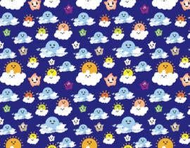 #12 for Create A Seamless Pattern of Image Examples In Cute Galactic Background by nobelium18