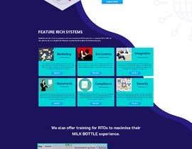 #19 для design a home page for a website от mdziakhan