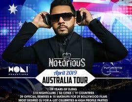 #29 для DJ Australia Tour Poster от maidang34
