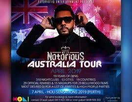 Nro 23 kilpailuun DJ Australia Tour Poster käyttäjältä satishandsurabhi