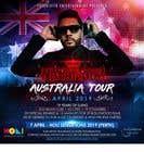 Graphic Design Конкурсная работа №39 для DJ Australia Tour Poster