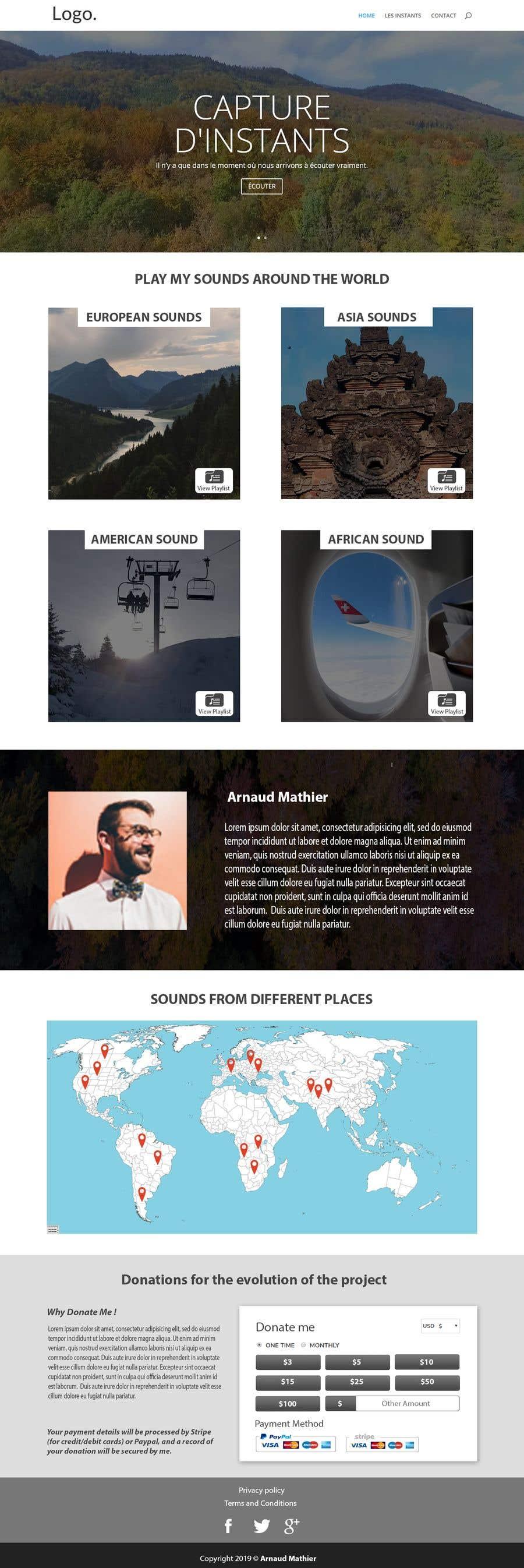 Proposition n°                                        21                                      du concours                                         Design & setup site web