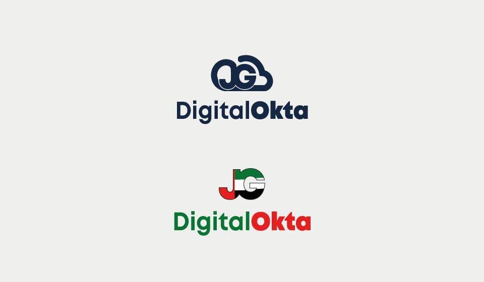 Penyertaan Peraduan #32 untuk DigitalOkta LogoDesign