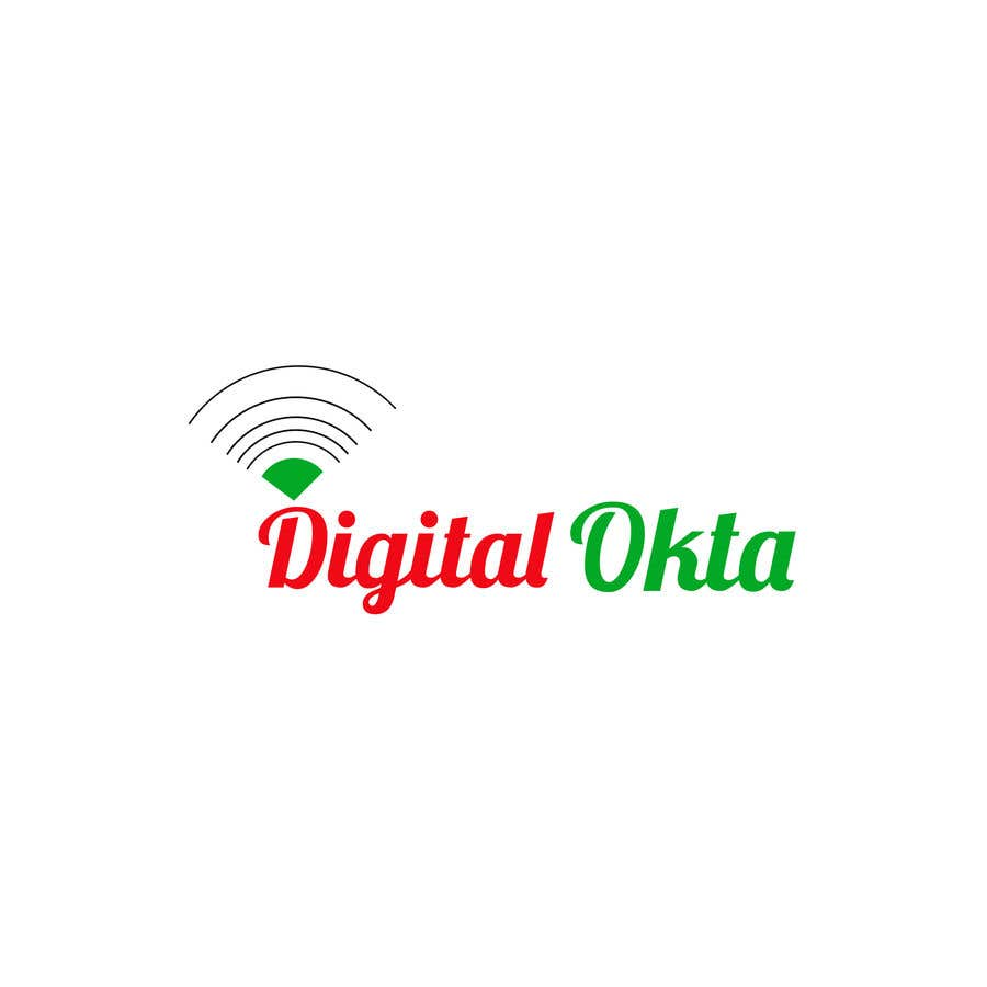 Penyertaan Peraduan #25 untuk DigitalOkta LogoDesign