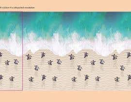 #42 for Baby Sea Turtle Crawl af kimuchan