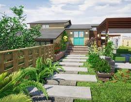 nº 19 pour 3D Frontyard Modern Design par misalpingua03