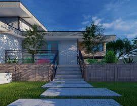 nº 8 pour 3D Frontyard Modern Design par AeArts