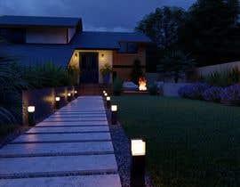 nº 24 pour 3D Frontyard Modern Design par alokbhagat