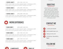 #21 cho Resume Design bởi Cloudsy11