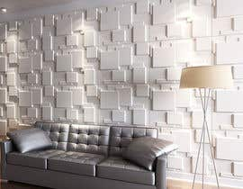 nº 75 pour Need interior designer of 3d wall tiles par alfaysal87