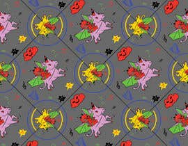 #3 for Create A Seamless Pattern of Baby Devils Riding On Evil Unicorns With Background Items Also by saurov2012urov