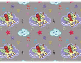 #13 for Create A Seamless Pattern of Baby Devils Riding On Evil Unicorns With Background Items Also by saurov2012urov