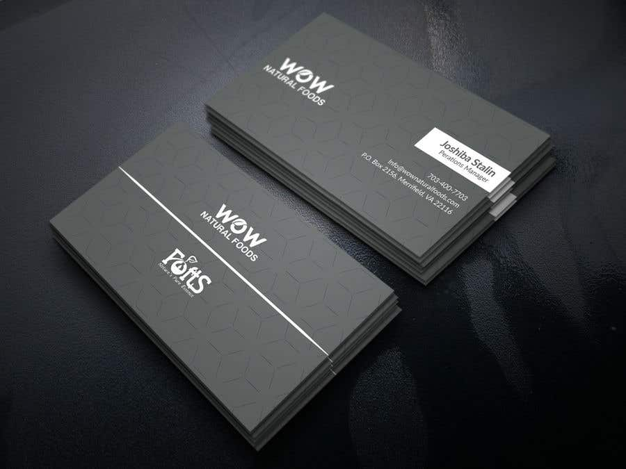 Proposition n°199 du concours create business card