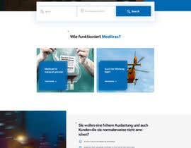 nº 14 pour Design 3 subpages of a Wordpress homepage - (only design - no development) par debasish1990