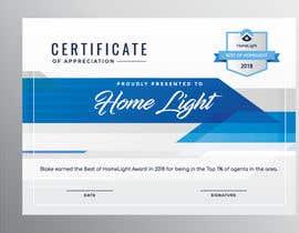 #5 untuk Award Certificate - 10/03/2019 13:38 EDT oleh smelena95
