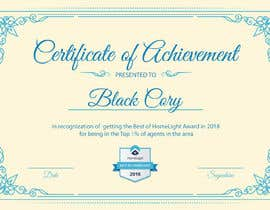 #16 untuk Award Certificate - 10/03/2019 13:38 EDT oleh iamipsha