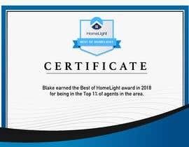 #3 untuk Award Certificate - 10/03/2019 13:38 EDT oleh kubulu