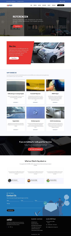 Konkurrenceindlæg #9 for Webdesign Car Painter