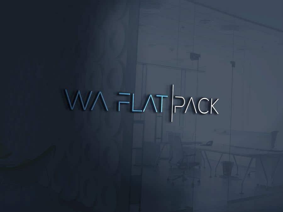 Penyertaan Peraduan #23 untuk Logo WA FLAT PACK