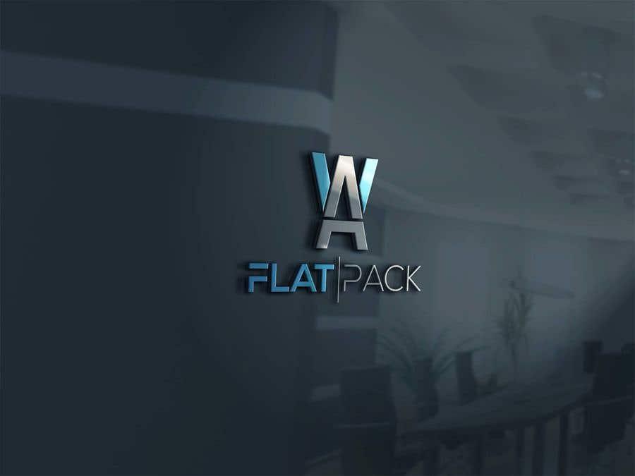 Penyertaan Peraduan #1138 untuk Logo WA FLAT PACK