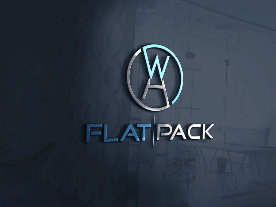 Penyertaan Peraduan #862 untuk Logo WA FLAT PACK