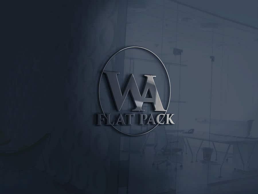 Penyertaan Peraduan #516 untuk Logo WA FLAT PACK
