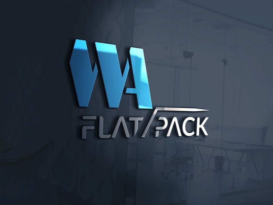 Penyertaan Peraduan #709 untuk Logo WA FLAT PACK