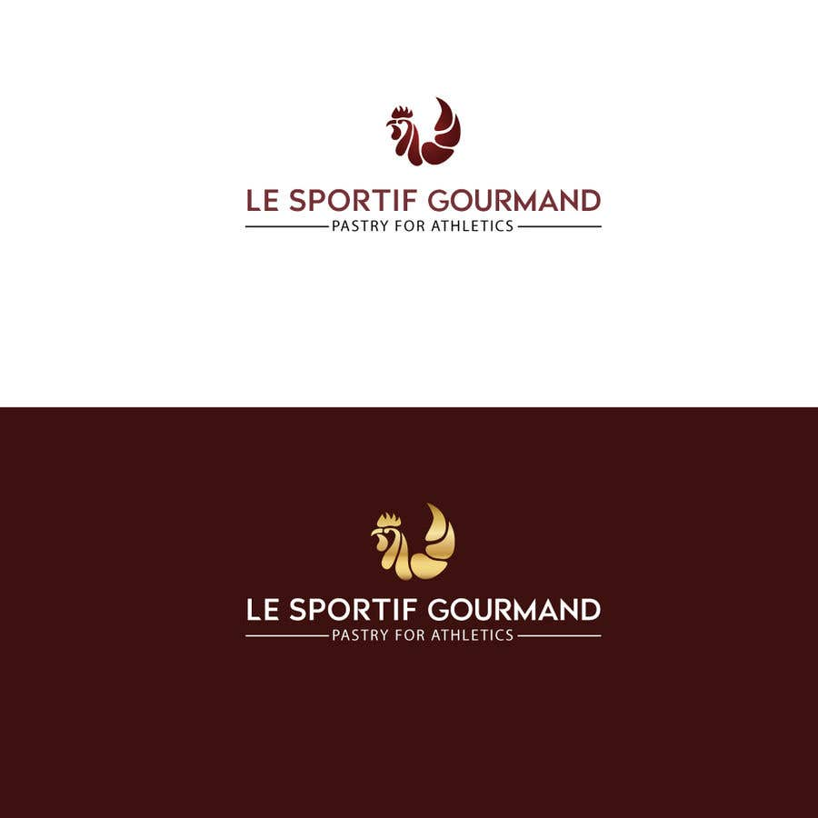 Penyertaan Peraduan #145 untuk Logo design for a Pastry for athletics