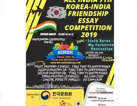 #19 cho Poster Design for Essay Contest Sr 2019 bởi Taimum