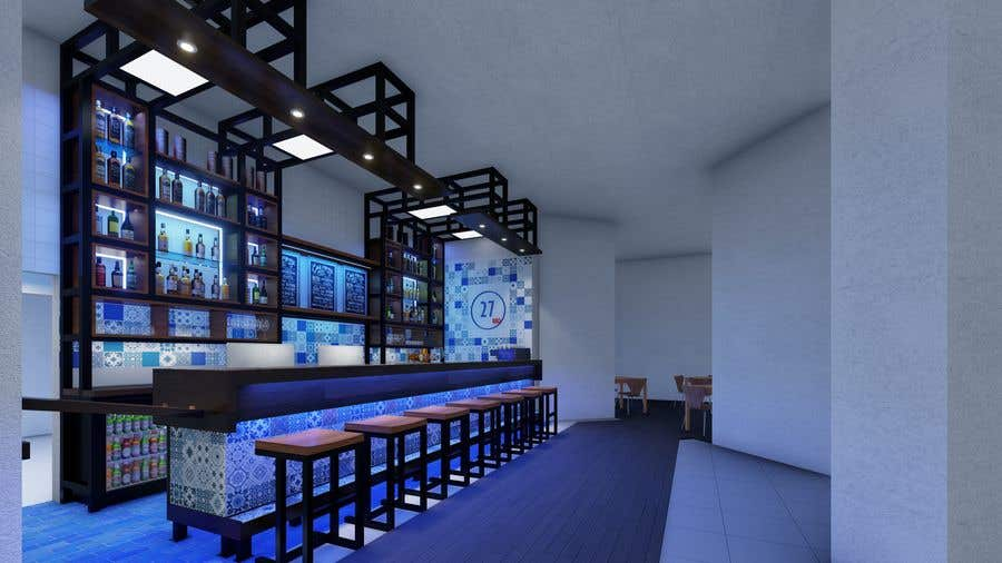 """Intrarea #27 pentru concursul """"Design a bar in a restaurant"""""""