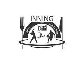 #113 untuk Baseball theme logo for restaurant oleh NK93work