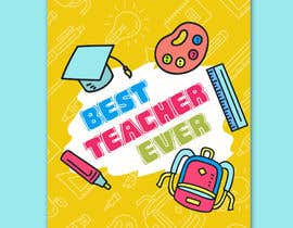 #39 for Teacher Planner Book Cover by ashar1008