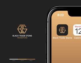 #111 para Company Name Logo/Icon - BlackTradeStone (Version 2) por mariusunciuleanu