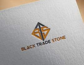#110 para Company Name Logo/Icon - BlackTradeStone (Version 2) por tabudesign1122