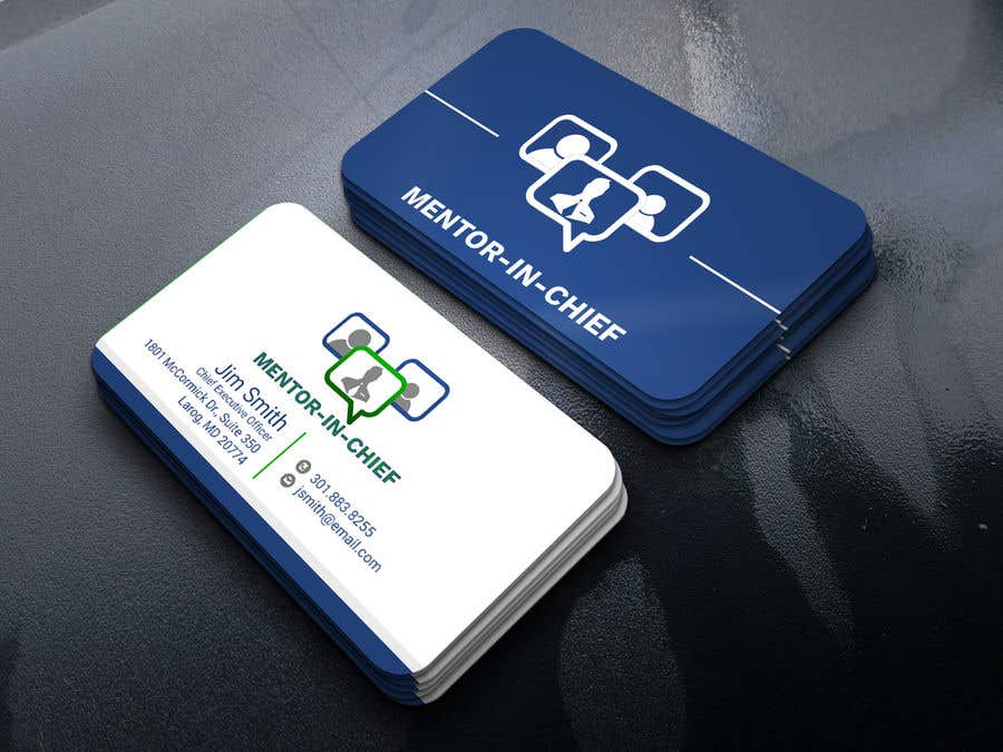 Contest Entry #50 for Biz Card / Word Template / PPT Template for Mentor-In-Chief