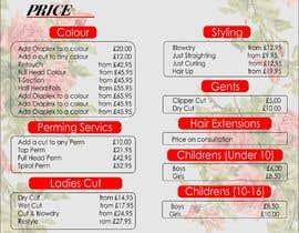nº 1 pour A5 4 Page Price List par kentoenk302