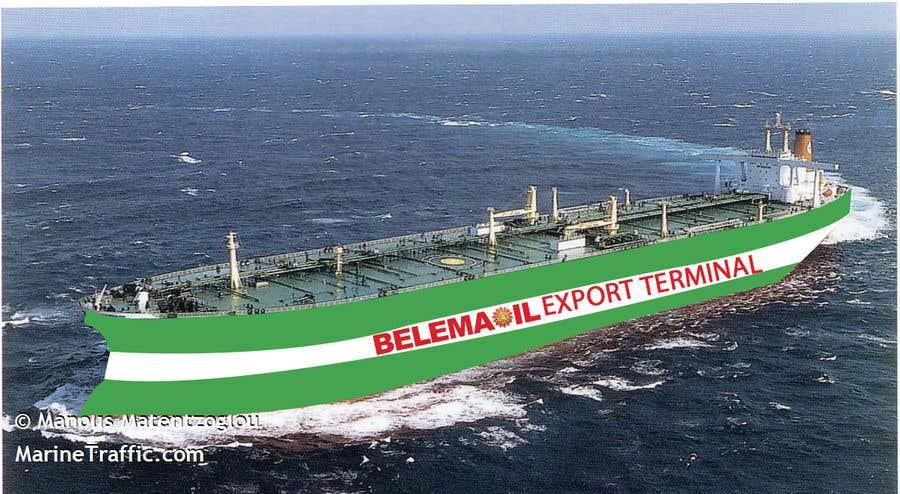 Penyertaan Peraduan #50 untuk Graphic design for a ship