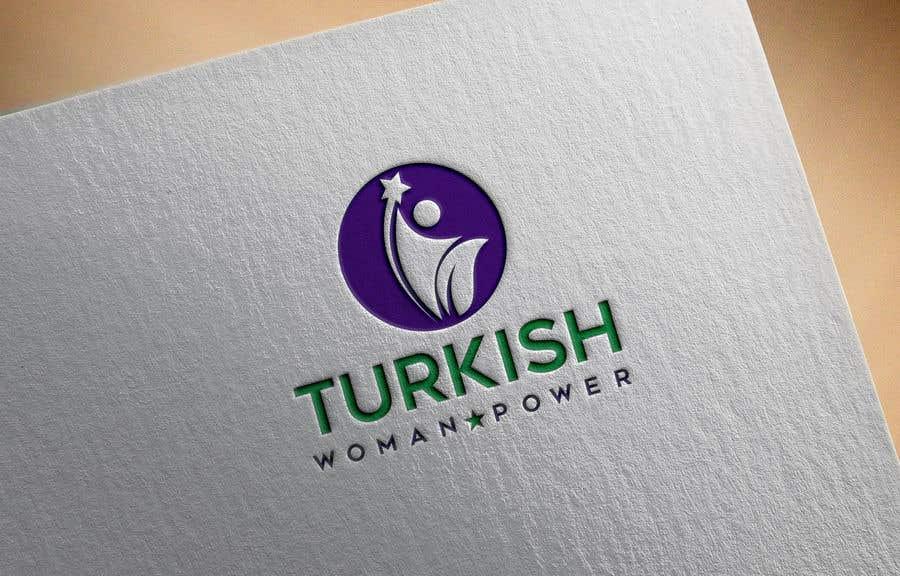 Kilpailutyö #393 kilpailussa Design a Logo and Icon for Turkish Woman Power