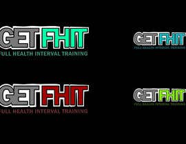 """Nro 10 kilpailuun I would like a simple but strong logo designed for my company. The company is GetFhit. I would like """"Get"""" and """"Fhit"""" to be dofferent colors. YOU CAN ADD YOUR OWN CREATIVE TOUCH. The company focuses on full body fitness. käyttäjältä davoodart"""
