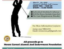 #150 untuk MCS Golf Tournament Media Flyer oleh SMHasan44