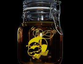 #48 for Glutonous bee honey logo by d8sconz