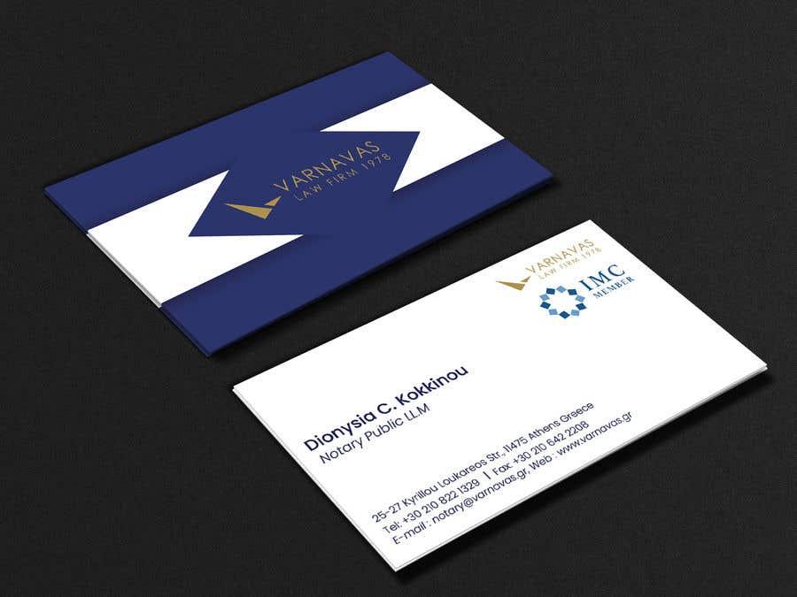 Penyertaan Peraduan #627 untuk Design new business cards for law firm