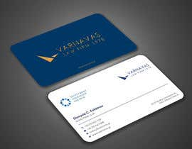 #587 untuk Design new business cards for law firm oleh Uttamkumar01