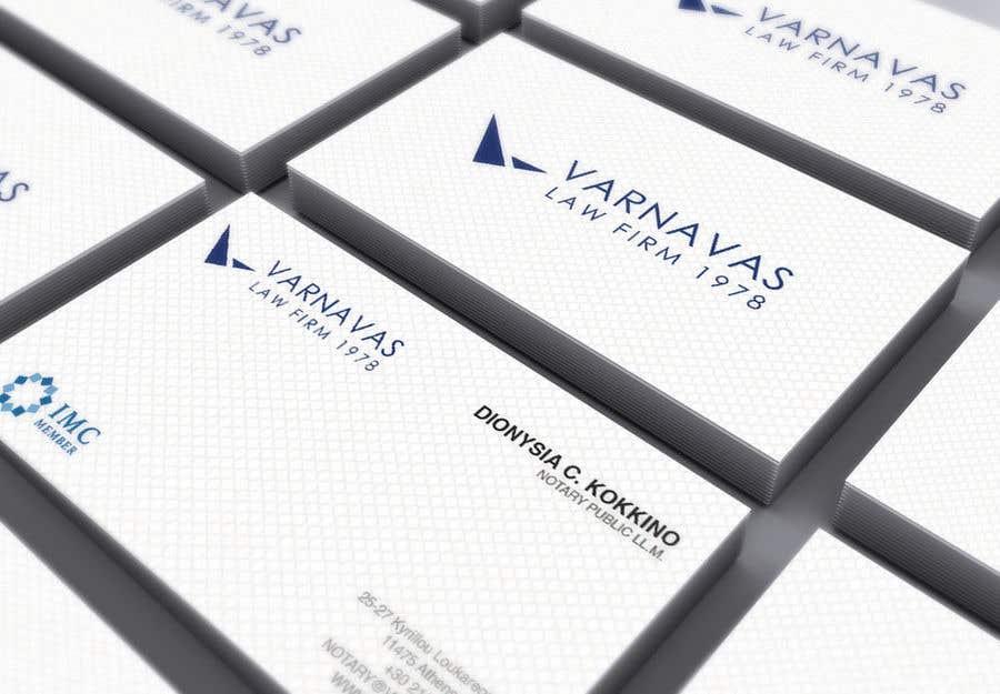Penyertaan Peraduan #610 untuk Design new business cards for law firm