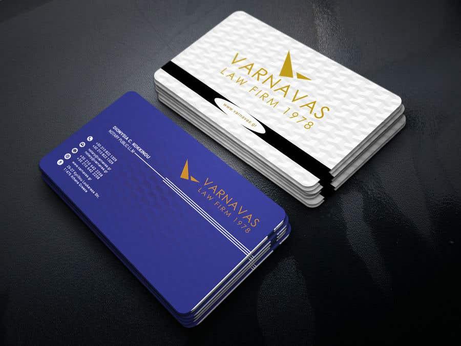 Penyertaan Peraduan #484 untuk Design new business cards for law firm