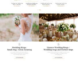#32 for Design Landingpage for Wedding Onlineshop af SantoJames