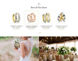 #33 for Design Landingpage for Wedding Onlineshop af SantoJames