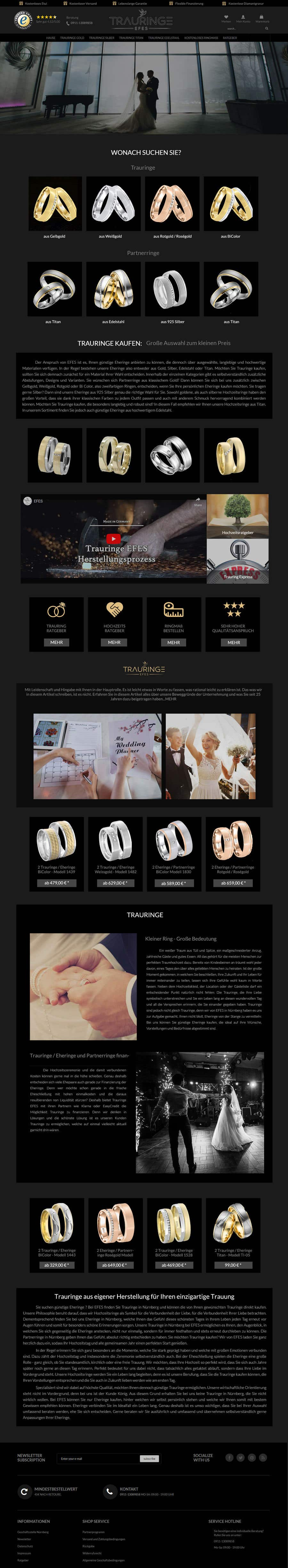 Konkurrenceindlæg #35 for Design Landingpage for Wedding Onlineshop