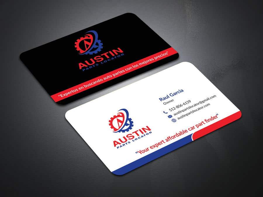 Proposition n°23 du concours Design Business Cards For Car Parts Company